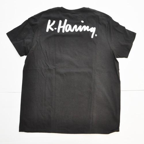 KEITH HARING/キース・ヘリング フロントプリントTEE DEAD STOCK-2
