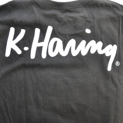 KEITH HARING/キース・ヘリング フロントプリントTEE DEAD STOCK-4