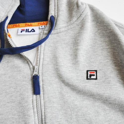 FILA / フィラ ワンポイントジップアップパーカー BIG SIZE  海外モデル-3