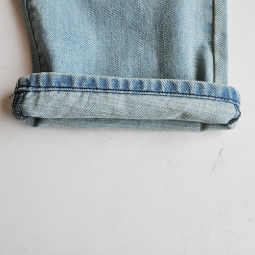 GUESS / ゲス REGULAR STRAIGHT CRESCENT FIT DENIM - 6