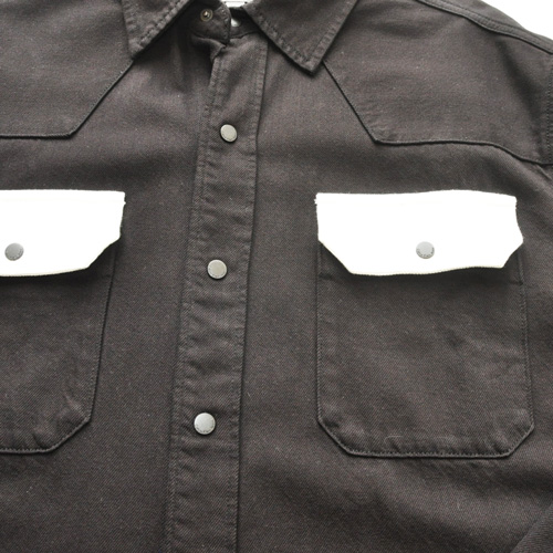 Calvin Klein / カルバンクライン ジーンズ コントラストシャツジャケット BIG SIZE - 3