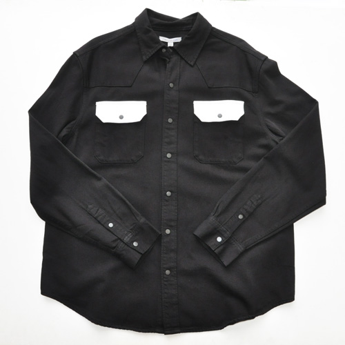 Calvin Klein / カルバンクライン ジーンズ コントラストシャツジャケット BIG SIZE