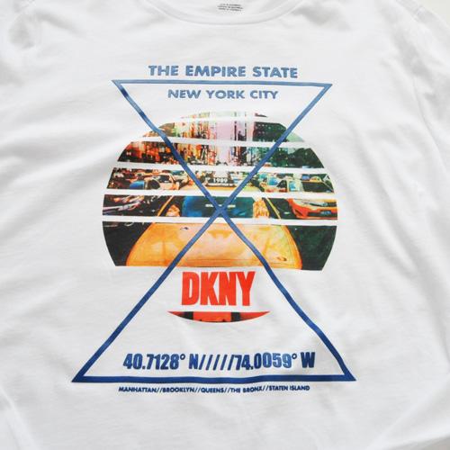 DKNY / ダナキャラン NEW YORK STATE 5Borough グラフィック L/S Tシャツ BIG SIZE - 2