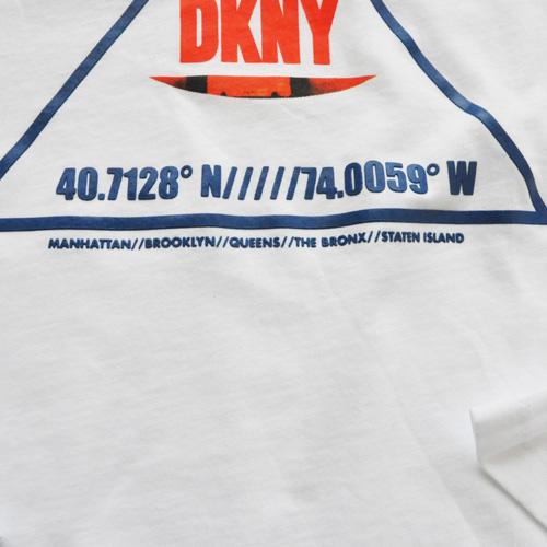DKNY / ダナキャラン NEW YORK STATE 5Borough グラフィック L/S Tシャツ BIG SIZE - 3
