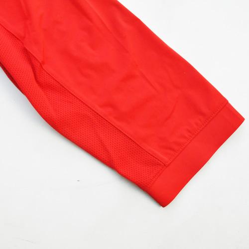 NIKE / ナイキ BASE BALL ロングスリーブゲームシャツ レッド 海外モデル - 4