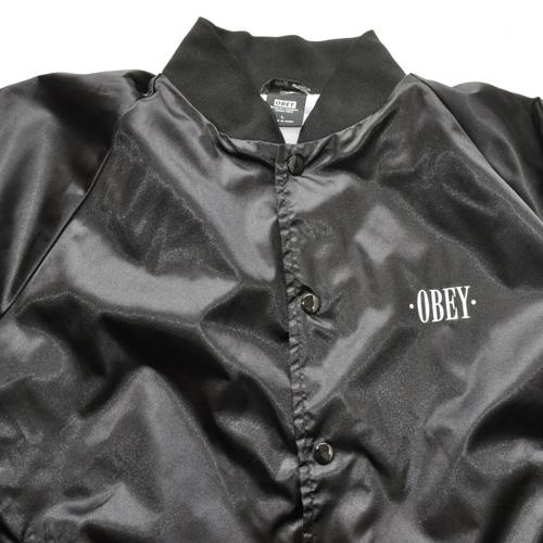 OBEY フロントバックプリントMA-1ジャケット-3