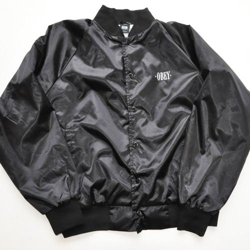 OBEY フロントバックプリントMA-1ジャケット