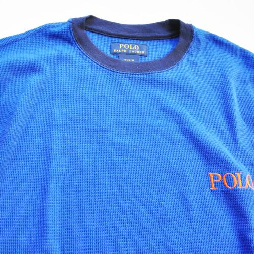 POLO RALPH LAUREN / ポロラルローレン LONG SLEEVE WAFFLE T-SHIRTS - 2