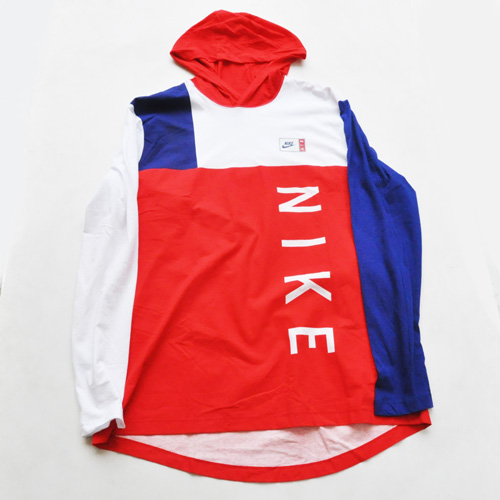 NIKE/ナイキ フーディーロングスリーブTシャツ US限定 BIG SIZE