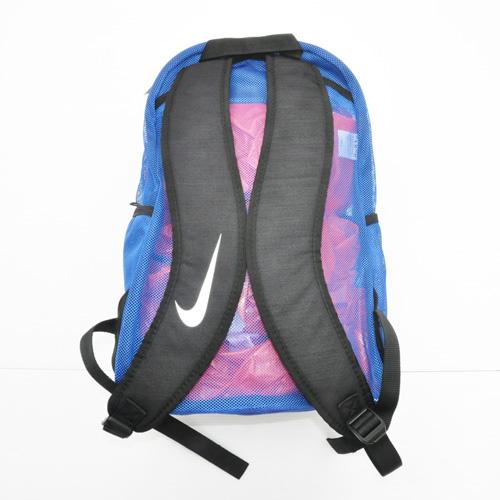 NIKE/ナイキ MESH BRASILIA BACK PACK BAG ブルー - 1