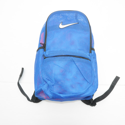 NIKE/ナイキ MESH BRASILIA BACK PACK BAG ブルー