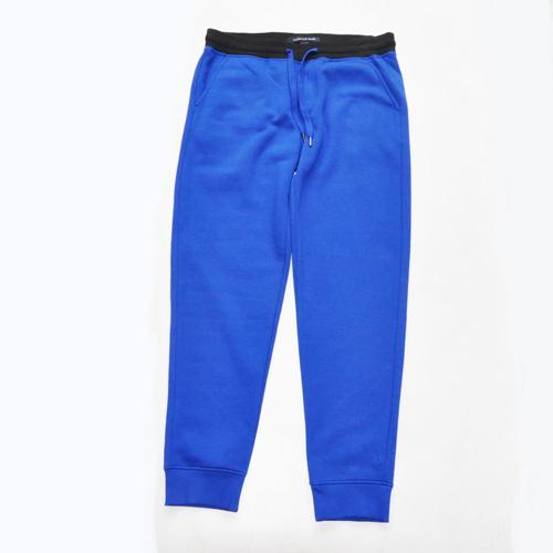 Calvin Klein /CK/ カルバンクライン ジーンズ BOXロゴ裏起毛スウェットセットアップ ブルー-4