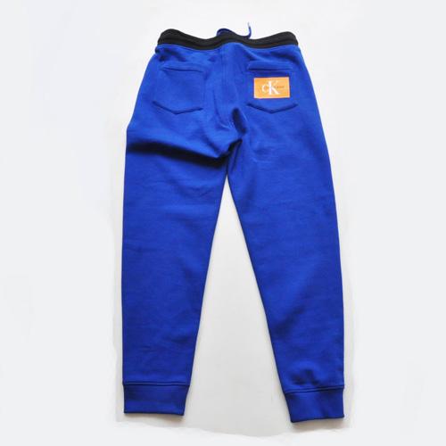 Calvin Klein /CK/ カルバンクライン ジーンズ BOXロゴ裏起毛スウェットセットアップ ブルー-5
