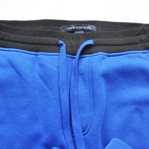 Calvin Klein /CK/ カルバンクライン ジーンズ BOXロゴ裏起毛スウェットセットアップ ブルー-6