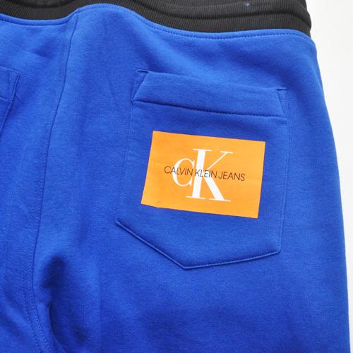 Calvin Klein /CK/ カルバンクライン ジーンズ BOXロゴ裏起毛スウェットセットアップ ブルー-9