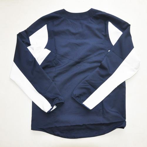 NIKE / ナイキ new york yankees×NIKE BASEBALL Wネーム ロングスリーブゲームシャツ 海外モデル - 1