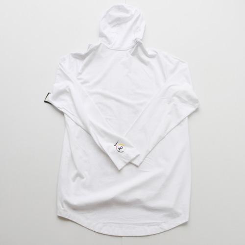 NIKE/ナイキ フロントプリントフーディーロングスリーブTシャツ - 1