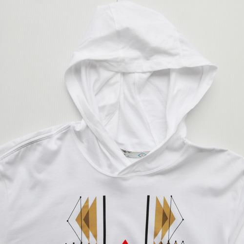 NIKE/ナイキ フロントプリントフーディーロングスリーブTシャツ - 2