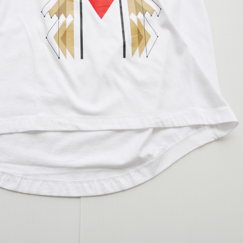 NIKE/ナイキ フロントプリントフーディーロングスリーブTシャツ - 5