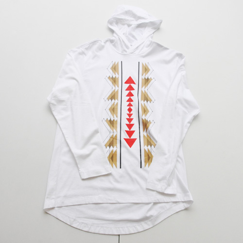 NIKE/ナイキ フロントプリントフーディーロングスリーブTシャツ