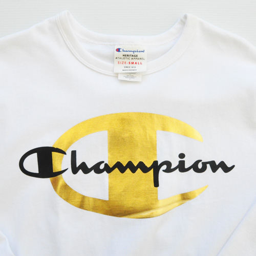 CHAMPION/チャンピオン CHAMPION×TIMBERLAND フロントプリントロングスリーブTシャツ 海外限定モデル - 2