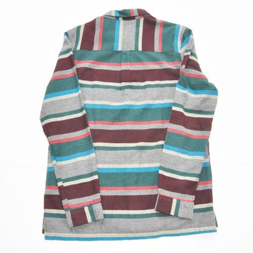 NATIVE YOUTH/ネイティブユース ボーダーロングスリーブシャツ - 1