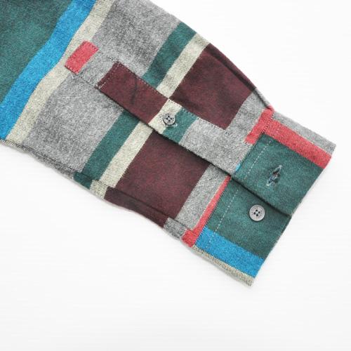 NATIVE YOUTH/ネイティブユース ボーダーロングスリーブシャツ - 5