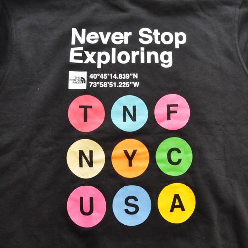 THE NORTH FACE / ザノースフェイス SUBWAY NYC フードパーカー BIG SIZE US限定-3