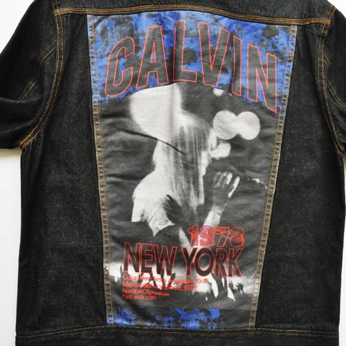 CALVIN KLEIN JEANS/カルバンクラインジーンズ バックプリント デニムジャケット - 6