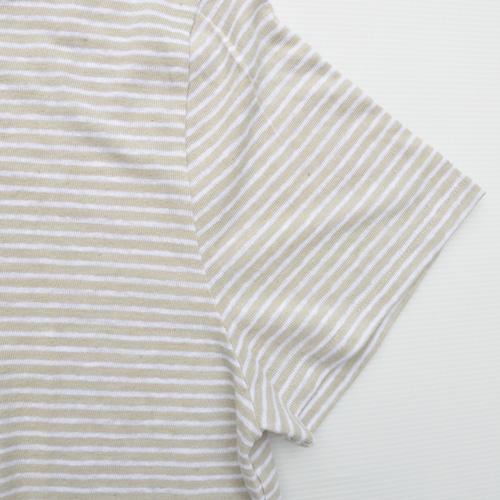 BARNEYS NEW YORK / バーニーズニューヨーク ボーダー半袖Tシャツ - 3
