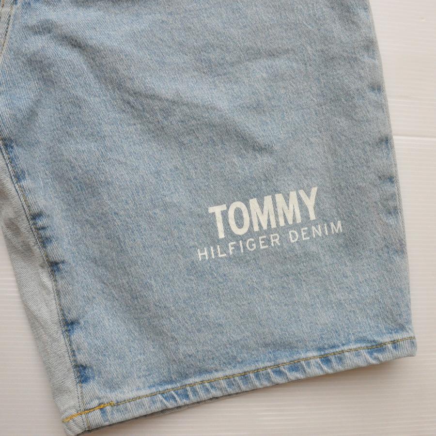 TOMMY HILFIGER DENIM /トミーヒルフィガーデニム デニムJKT&デニムショーツ SET UP-2