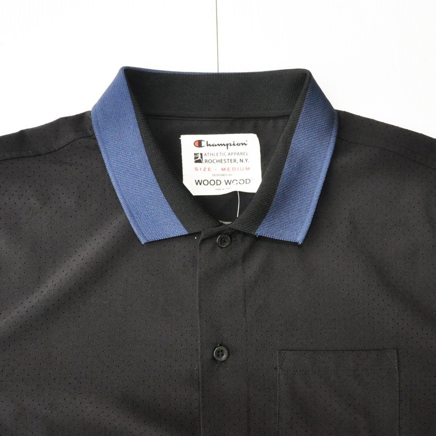WOOD WOOD/ ウッドウッド WOOD WOOD×CHAMPION ボーリング半袖シャツ-3