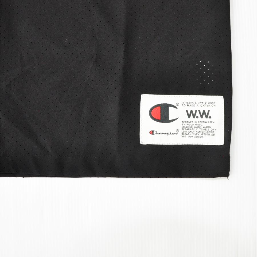 WOOD WOOD/ ウッドウッド WOOD WOOD×CHAMPION ボーリング半袖シャツ-5
