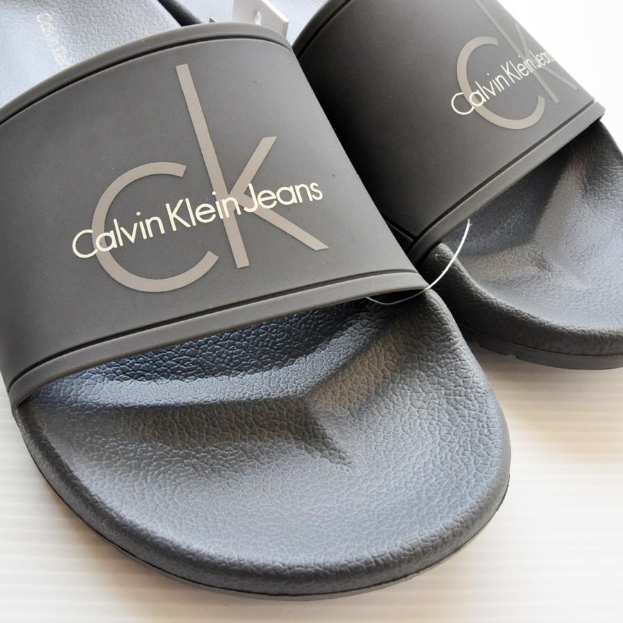 CALVIN KLEIN JEANS/カルバンクラインジーンズ ラバーシャワーサンダル -5