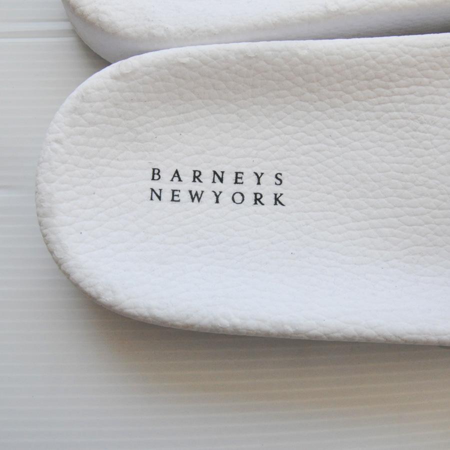 BARNEYS NEWYORK / バーニーズニューヨーク ラバーサンダル ホワイト-4