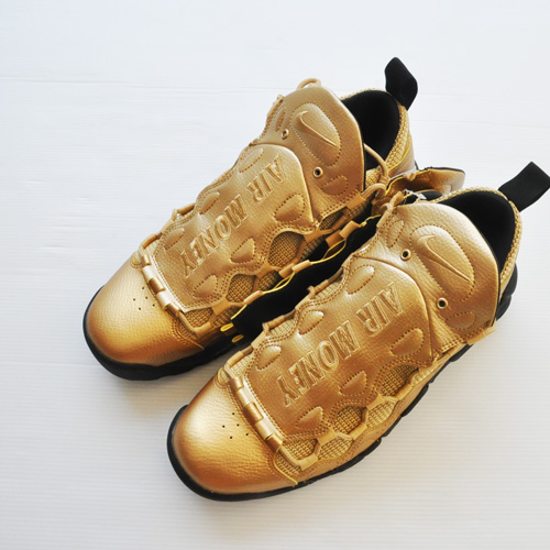 NIKE/ナイキ AIR MORE MONEY GOLD-6