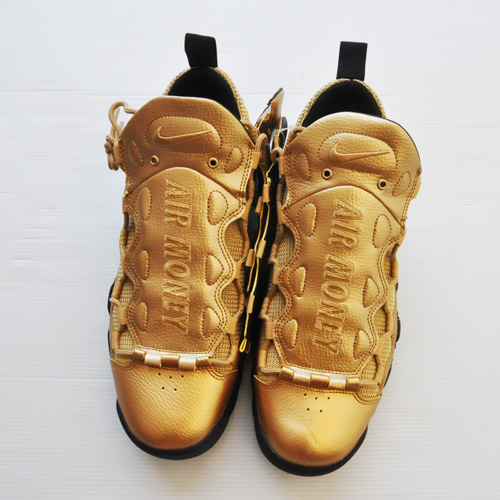 NIKE/ナイキ AIR MORE MONEY GOLD