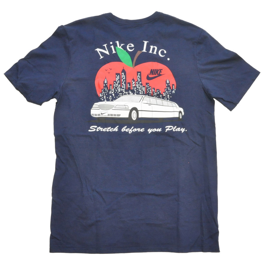 NIKE/ナイキ NY BIG APPLE NIKE INC TEE BIG SIZE US限定モデル
