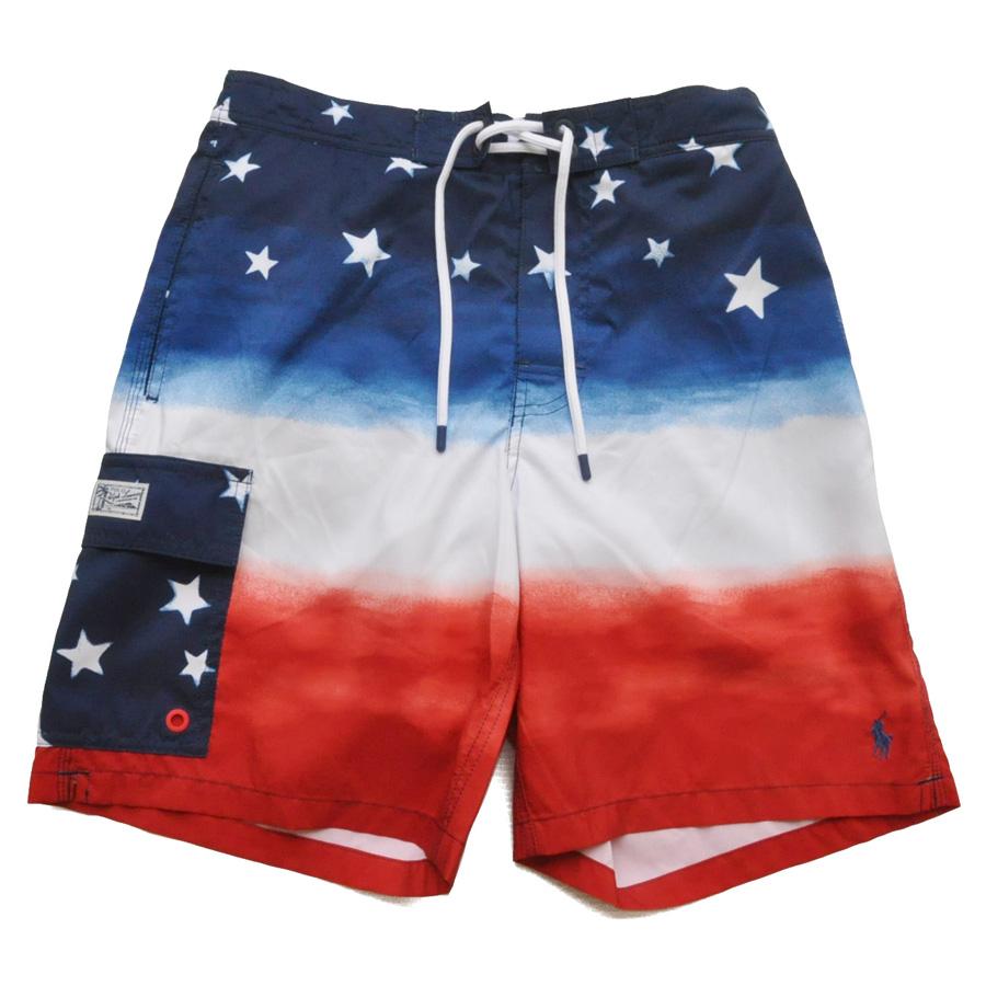 POLO RALPH LAUREN/ポロ ラルフローレン 星条旗グラデーション Swim Shorts