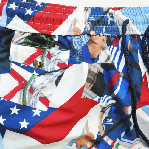 POLO RALPH LAUREN/ポロ ラルフローレン PRL-92 AMERICA'S CUP Swim Shorts-4