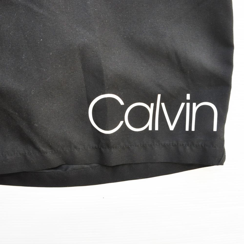 Calvin Klein/カルバンクライン Calvin Klein プリントSwim Shorts ブラック-5