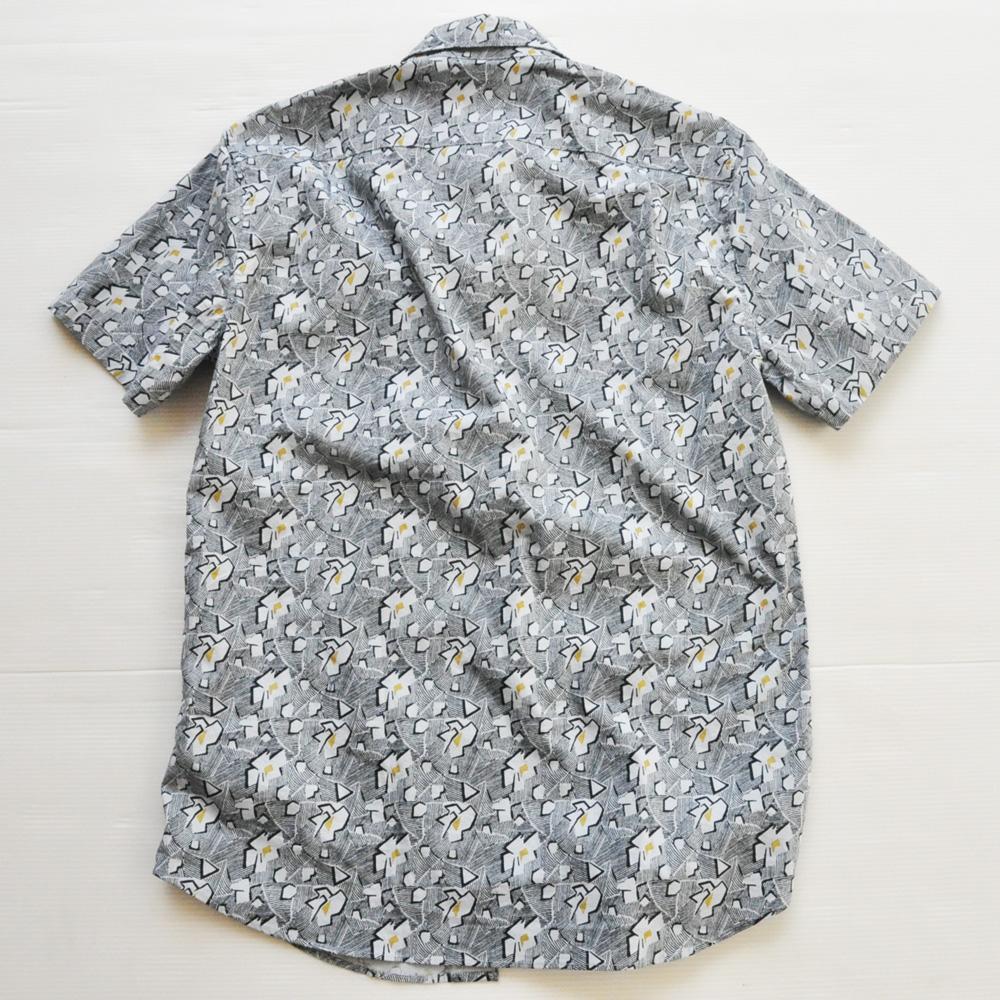 J.CREW/ジェイクルー フラワーモノグラムビンテージアロハシャツ #2-2