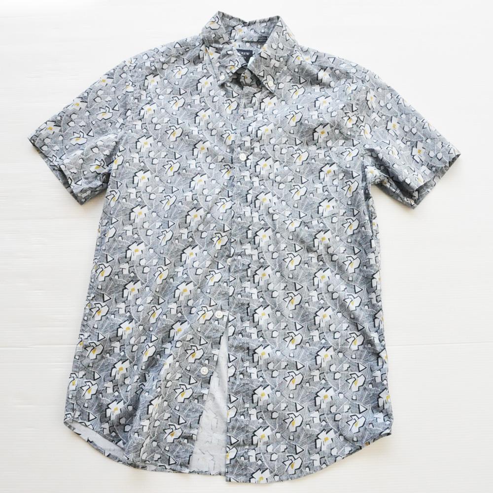 J.CREW/ジェイクルー フラワーモノグラムビンテージアロハシャツ #2