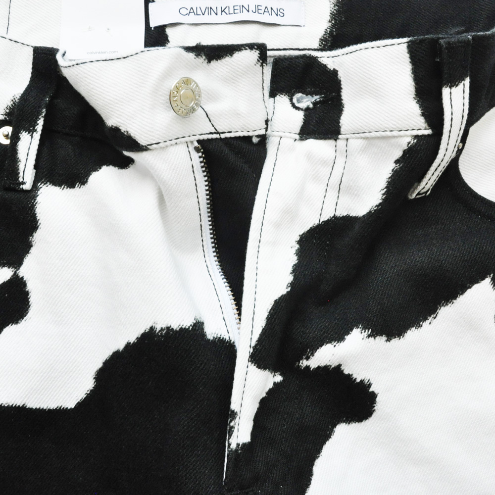 CALVIN KLEIN JEANS/カルバンクラインジーンズ Cow Print Jeans BIG SIZE-3