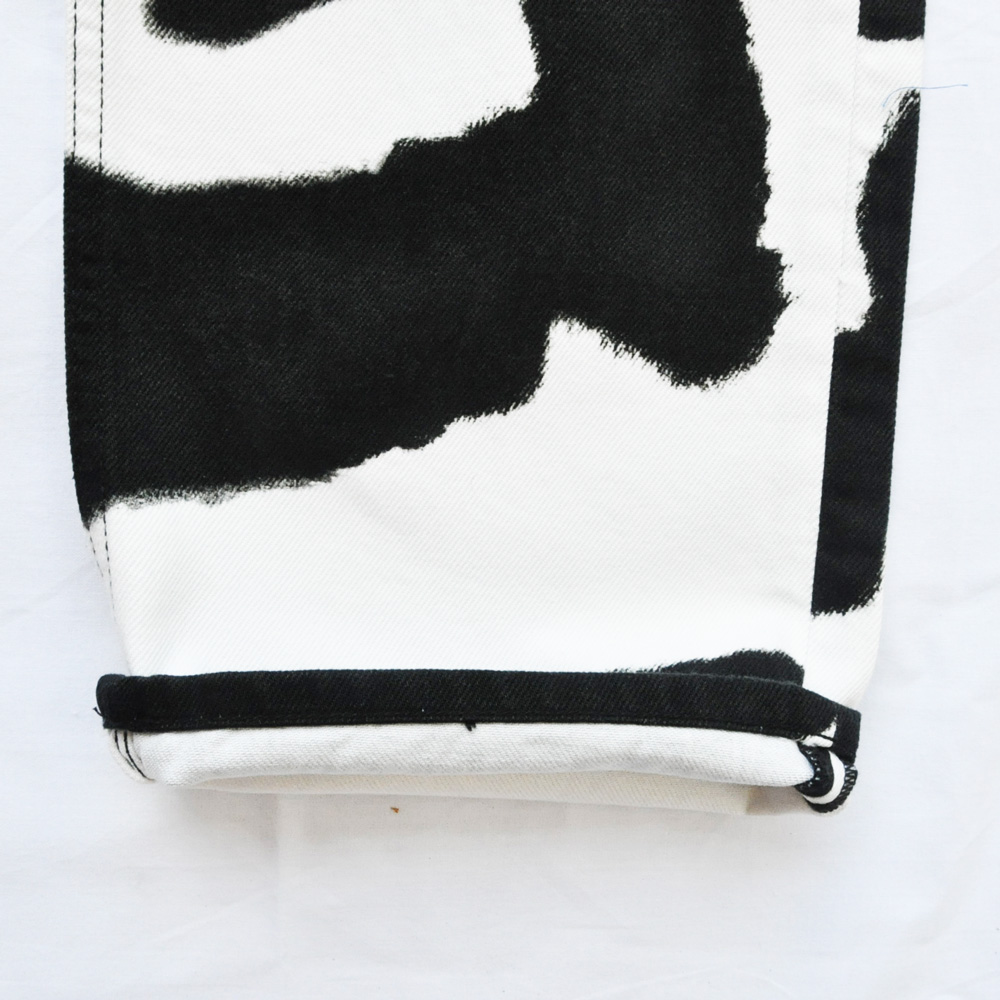 CALVIN KLEIN JEANS/カルバンクラインジーンズ Cow Print Jeans BIG SIZE-7