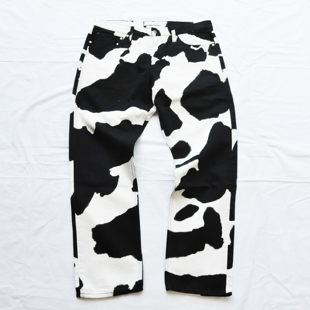 CALVIN KLEIN JEANS/カルバンクラインジーンズ Cow Print Jeans BIG SIZE