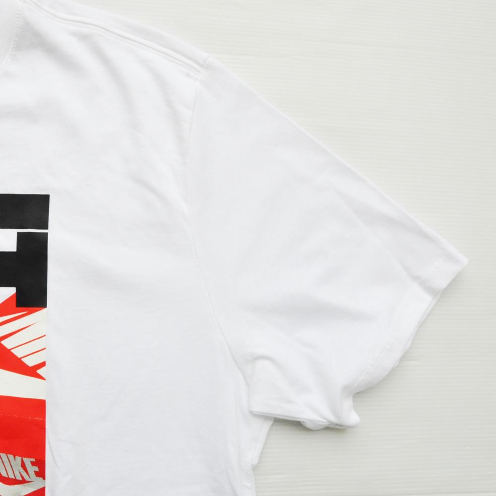 NIKE/ナイキ JUST DO IT プリントTEE BIG SIZE ホワイト-5