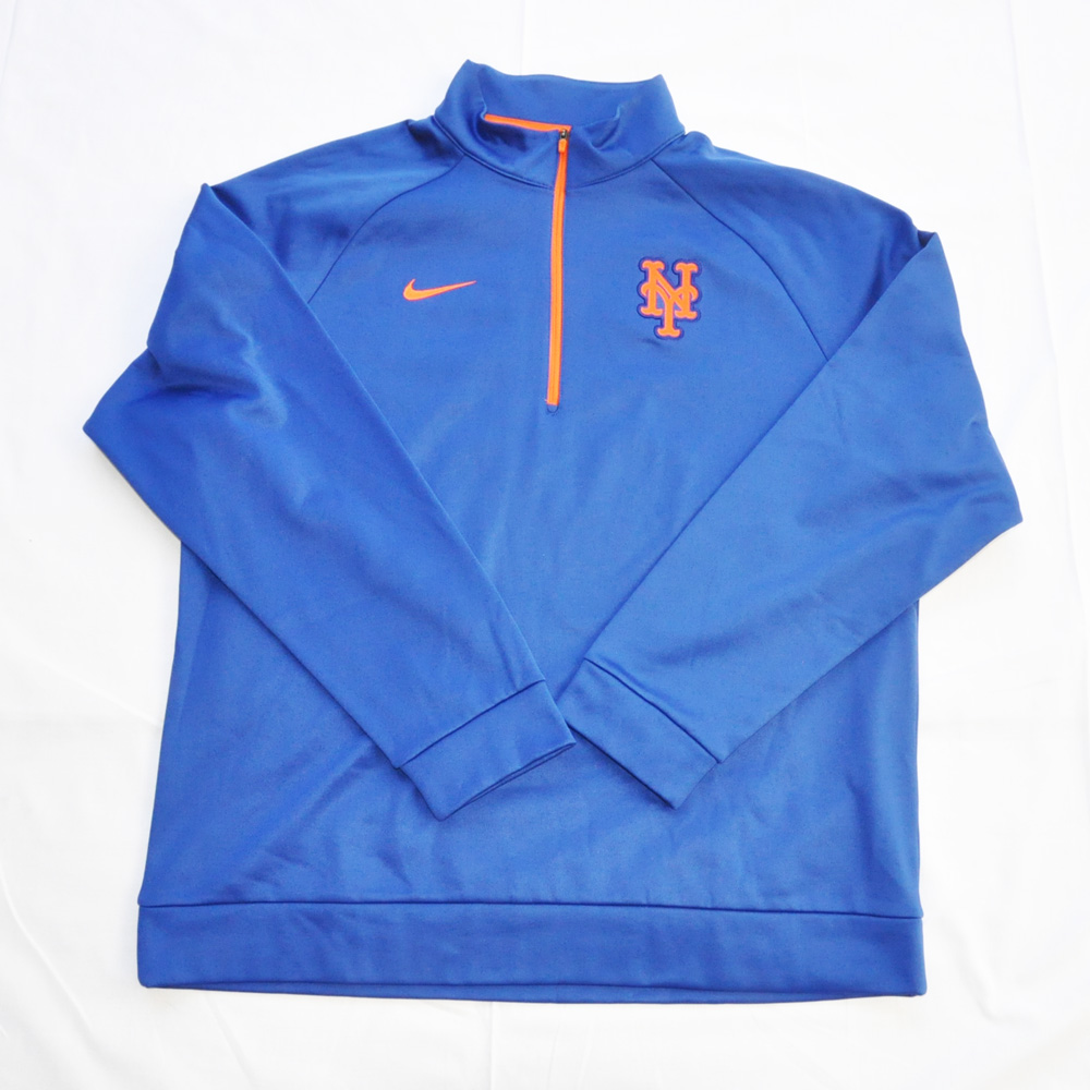 NIKE/ナイキ NEW YORK METS HALF ZIP PULL OVER BIG SIZE