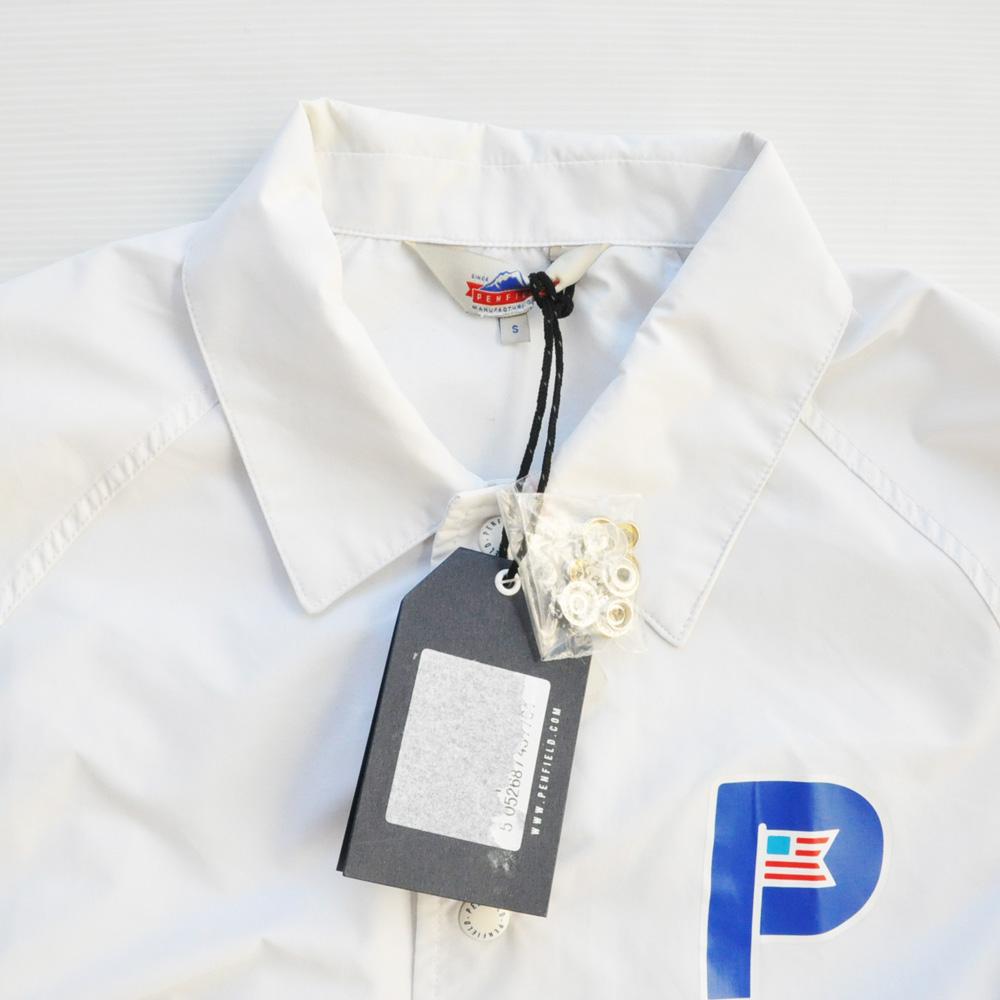 PENFIELD/ペンフィールド ワンポイントコーチJKT ホワイト-3
