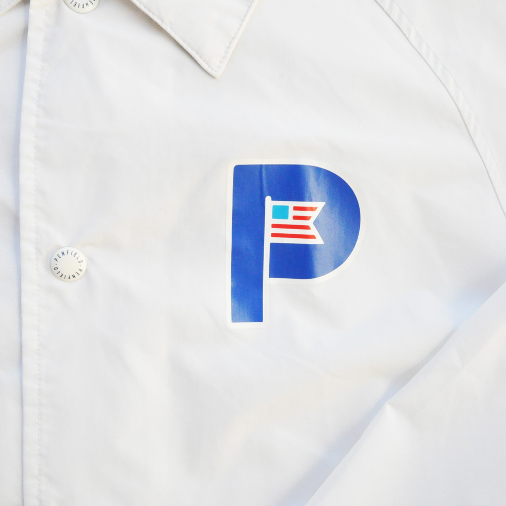 PENFIELD/ペンフィールド ワンポイントコーチJKT ホワイト-4